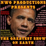 Obama-The Greatest Show On Earth T-shirt