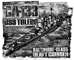 Heavy cruiser Toledo