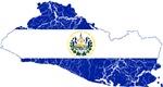 El Salvador Flag And Map
