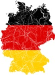 Germany Flag And Map