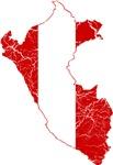 Peru Flag And Map