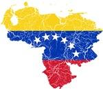 Venezuela Flag And Map