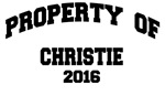 CHRISTIE 2016 PROPERTY OF