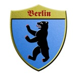 Berlin Germany Metallic Shield