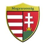 Hungary Metallic Shield