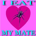 I Eat My Mate Skyblue Font