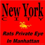 NYC Rat Private Eye