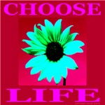 Choose Life Crimson
