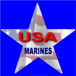 USA MARINES STAR