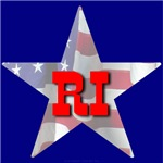 RI Patriotic State Star