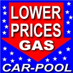 Lower Gas Prices Car Pool