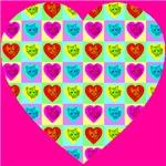 Heart Of Cat Hearts Cyan
