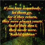 If You Love Someone Kahlil Gibran