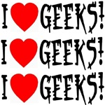 I Love Geeks! Three Times Over