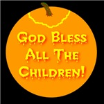 God Bless All The Children Jack-o-lantern