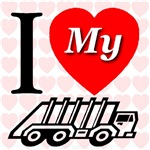 I Love My Garbage Truck