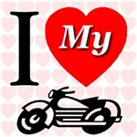 I Love My Cycle/Motorcycle Go Left