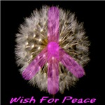 Wish For Peace Dandelion Pink 