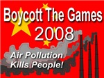 Boycott The Games 2008 Air Pollution Kills People!