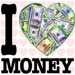 I Love Money Heart
