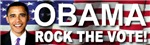 OBAMA Rock The Vote Bumper