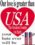 Love Greater Than Hate