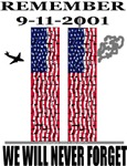 Remember 9/11 Twin Tower Flags