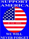 We Will Never Forget 9-11-2001
