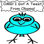 OMG! I Got A Tweet From Obama!