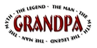 Grandpa - The Legend t-shirts and gifts