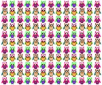 Cute owls pattern