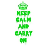 Keep calm and carry on at Halloween