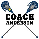 Lacrosse Coach Customized