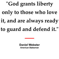 Daniel Webster on Liberty
