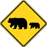 Migrating Bears Sign