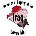 Someone Deployed in Iraq loves me!
