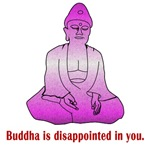 Buddha is disappointed