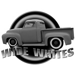 Wide Whites Hot Rod Pickup