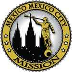 Mexico Mexico City LDS Mission Classic Seal Gold