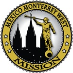 Mexico Monterrey West LDS Mission Classic Seal Gol