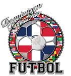 Dominican Republic Flag World Cup Futbol Ball with