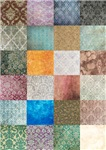 Patchwork Quilt squares pattern