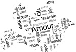 Love Dove - Words for love in different languages