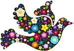 Floral Dove designs