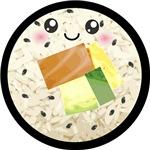 Cute Kawaii Sushi Roll