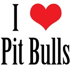 I Heart Pit Bulls*
