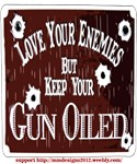 keep your gun oiled