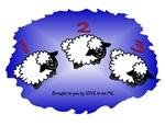 I LOVE SHEEP - LOVE TO BE ME