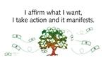 I affirm what I want...