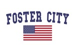 Foster City US Flag